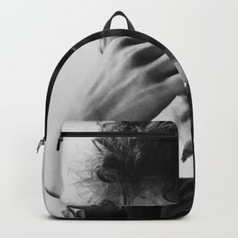 Bob Dylan Smoking Black and white Retro Silk Poster Frameless Backpack