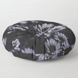 Flowers everywhere Floor Pillow
