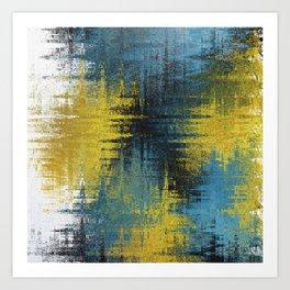 Digital Oil no.1 Art Print