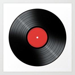 Music Record Kunstdrucke