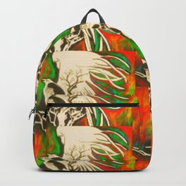 Haunt Me  #Society6  #decor   #buyart Backpack