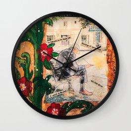 A simple life Wall Clock