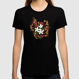 Backyard Butterfly Garden T-shirt