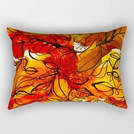 Autumn Blitz Rectangular Pillow