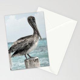 Seabirds on a Pier Stationery Cards