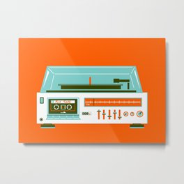 Mix Tape - I love the 80s Metal Print