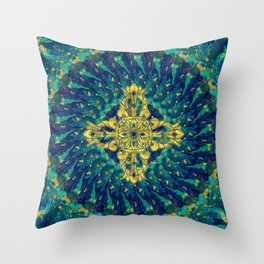 Double Dorje - Vishvavajra  -Vajra Throw Pillow