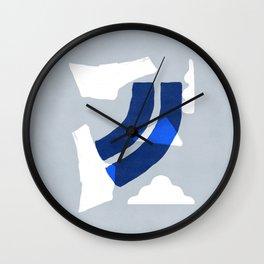 A sky full of clounds Wall Clock