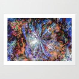 Oort Cloud - Digital Abstract Expressionism Art Print