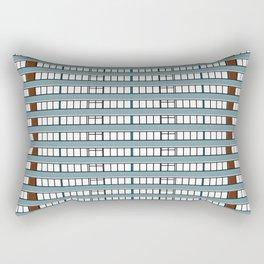 Edificio Las Américas Rectangular Pillow