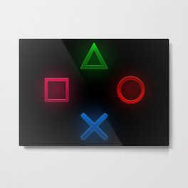 Node of game console Metal Print