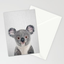 Baby Koala - Colorful Stationery Cards