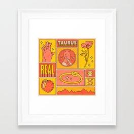 Taurus Framed Art Print