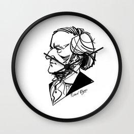 Richard Wagner Wall Clock