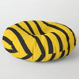 Paint Lines Vertical Bee Floor Pillow