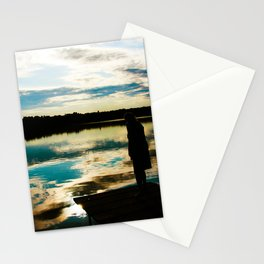 Dreamtime by the Lake Stationery Cards