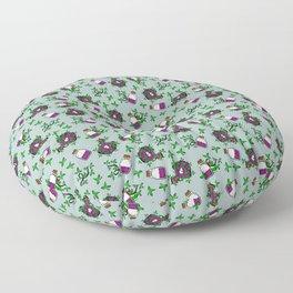 Poisonous Pattern Floor Pillow
