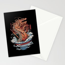 Ramen Dragon Stationery Cards