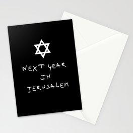 Next year in Jerusalem 5 Stationery Cards