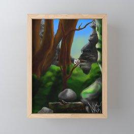 Discovery Framed Mini Art Print