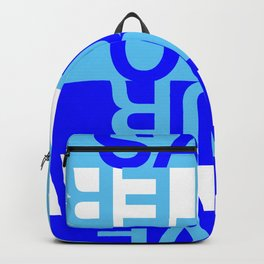 Save our Water Backpack