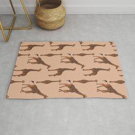 Giraffe neutral pattern Rug