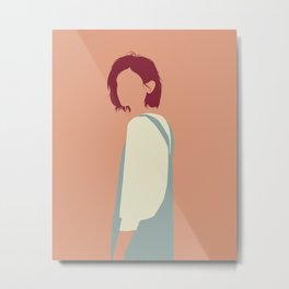 Shoulder Metal Print