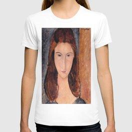 Amedeo Modigliani Portrait of Jeanne Hebuterne 1920 T-shirt