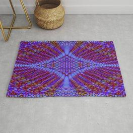 Kaleidoscope Fractal Rug