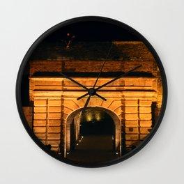 Love on the fortress / Art print  Wall Clock