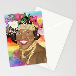 Marsha P Johnson Stationery Cards