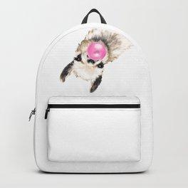 Bubble Gum Sneaky Llama Backpack