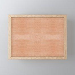 DESERT DENIM . SOLID Framed Mini Art Print