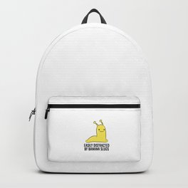 Easily Distracted By Banana Slug Backpack