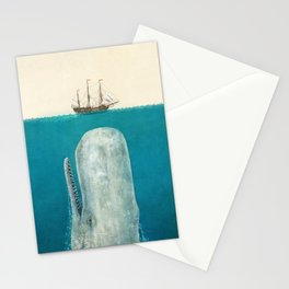 The Whale - option Stationery Cards