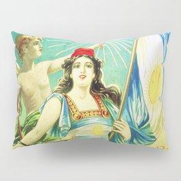 1910 Fernet Branca Liqueur Aperitif Advertisement Poster Print Pillow Sham