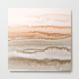 WITHIN THE TIDES NEW NEUTRALS by Monika Strigel Metal Print