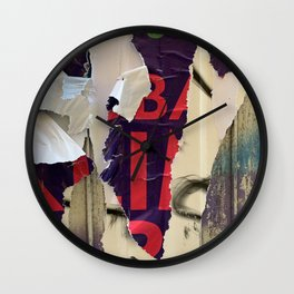 Berlin Posters-Oh Nine Wall Clock