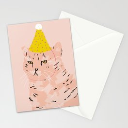 Party Cat Stationery Cards