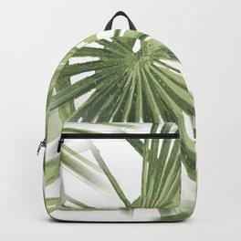 Tropical Beach Palm Vector Backpack