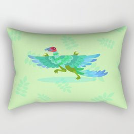 Archaeopteryx, That's One Scary Chicken Rectangular Pillow