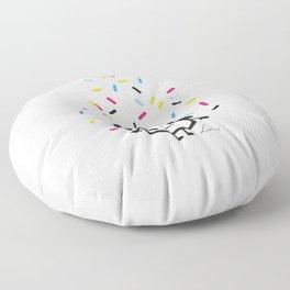 Pimp My Cupcake Floor Pillow