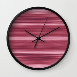 Abstraction Serenity in Rose Wall Clock