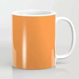 Tangerine - Solid Color Collection Kaffeebecher