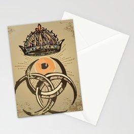 misterio visual 12: coronación ocular Stationery Cards