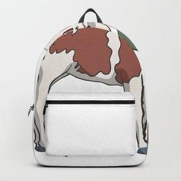 Farmer with calf Backpack