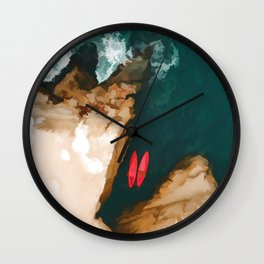 Top view Wall Clock