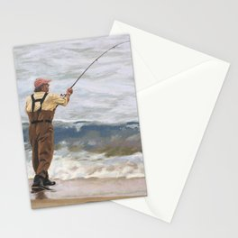 Just One More Cast Stationery Cards