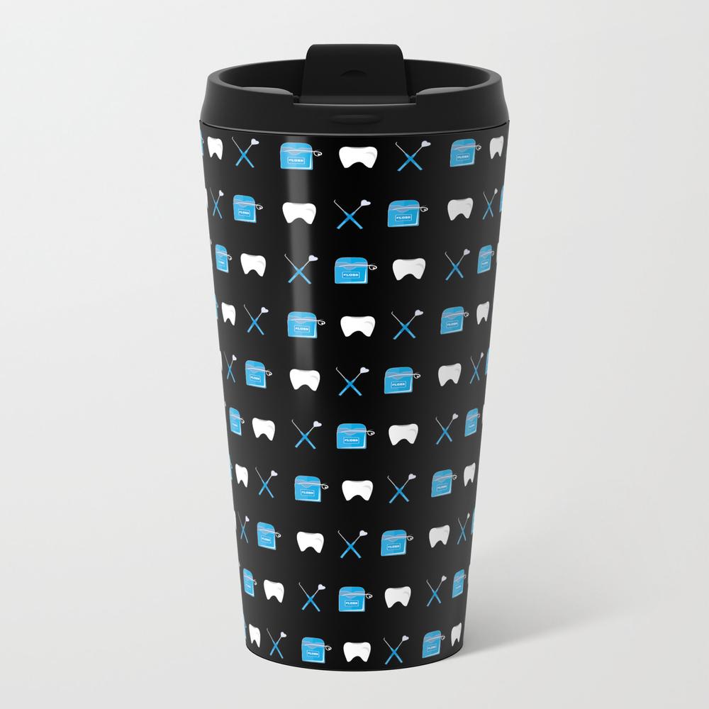 Dental Hygienist Metal Travel Mug by Pinkmariedesigns MTM7797453