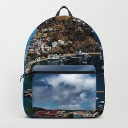 Santa Catalina Island, California color photograph / photography / photographs Backpack